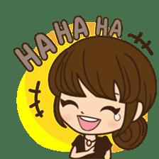 Anna in office version sticker #3580300