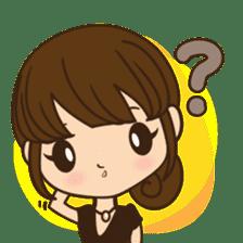 Anna in office version sticker #3580304