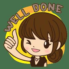 Anna in office version sticker #3580307