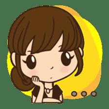 Anna in office version sticker #3580309