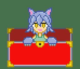 Mimic girl sticker #3589547