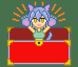 Mimic girl sticker #3589549