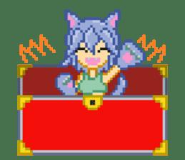 Mimic girl sticker #3589554