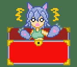 Mimic girl sticker #3589559