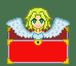 Mimic girl sticker #3589574