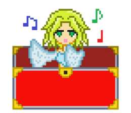 Mimic girl sticker #3589576