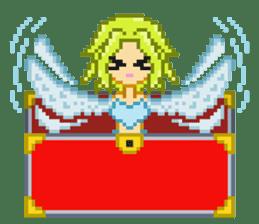 Mimic girl sticker #3589577