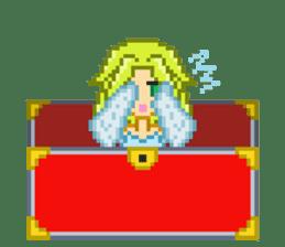 Mimic girl sticker #3589578