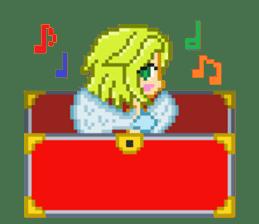 Mimic girl sticker #3589583