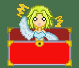 Mimic girl sticker #3589584