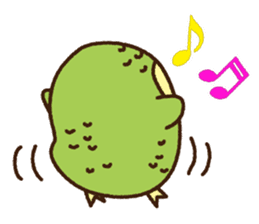 Happy Kakapo 2 sticker #3595831