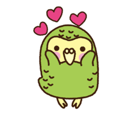 Happy Kakapo 2 sticker #3595833