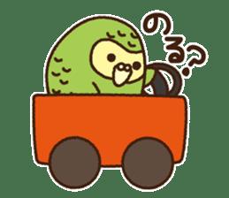 Happy Kakapo 2 sticker #3595836