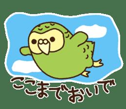 Happy Kakapo 2 sticker #3595839