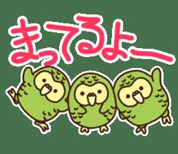 Happy Kakapo 2 sticker #3595841