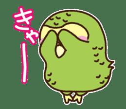 Happy Kakapo 2 sticker #3595845