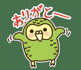Happy Kakapo 2 sticker #3595847