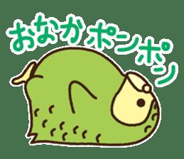 Happy Kakapo 2 sticker #3595849