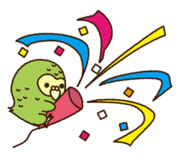 Happy Kakapo 2 sticker #3595850
