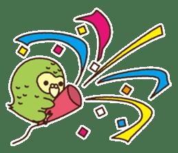 Happy Kakapo 2 sticker #3595850