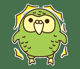 Happy Kakapo 2 sticker #3595858