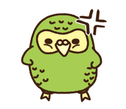 Happy Kakapo 2 sticker #3595859
