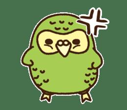 Happy Kakapo 2 sticker #3595859