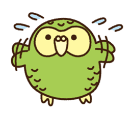 Happy Kakapo 2 sticker #3595860