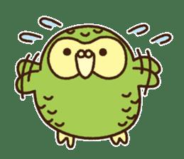 Happy Kakapo 2 sticker #3595860
