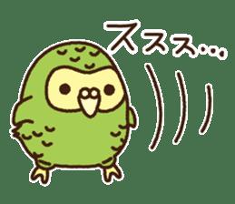 Happy Kakapo 2 sticker #3595865