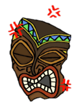 Aloha hula sticker #3602866