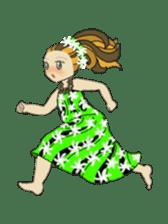 Aloha hula sticker #3602877