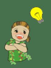 Aloha hula sticker #3602880