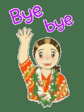Aloha hula sticker #3602887