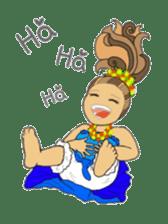 Aloha hula sticker #3602893