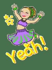 Aloha hula sticker #3602898