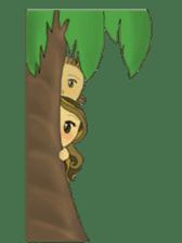 Aloha hula sticker #3602903