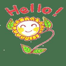 Happy Flower sticker #3606067