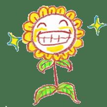 Happy Flower sticker #3606068