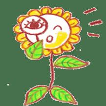 Happy Flower sticker #3606070