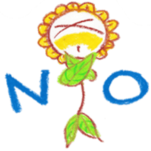 Happy Flower sticker #3606072