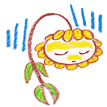 Happy Flower sticker #3606077