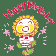 Happy Flower sticker #3606078