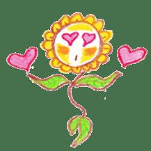 Happy Flower sticker #3606082