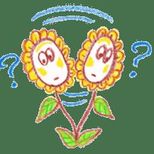 Happy Flower sticker #3606088