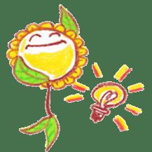 Happy Flower sticker #3606089