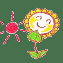 Happy Flower sticker #3606093