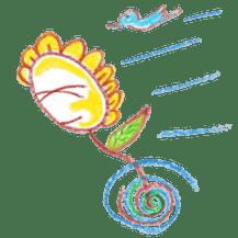 Happy Flower sticker #3606094
