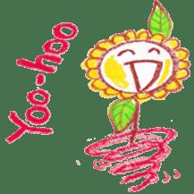 Happy Flower sticker #3606096