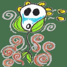 Happy Flower sticker #3606097